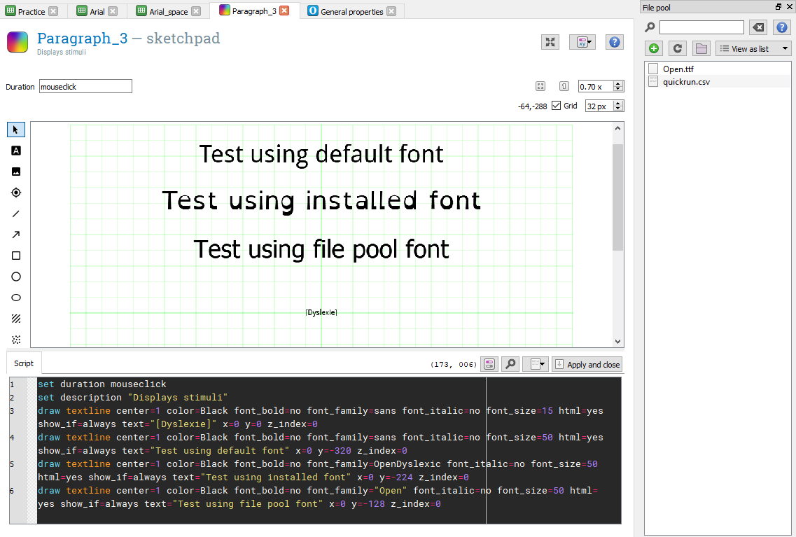 Custom Fonts From The File Pool — Forum