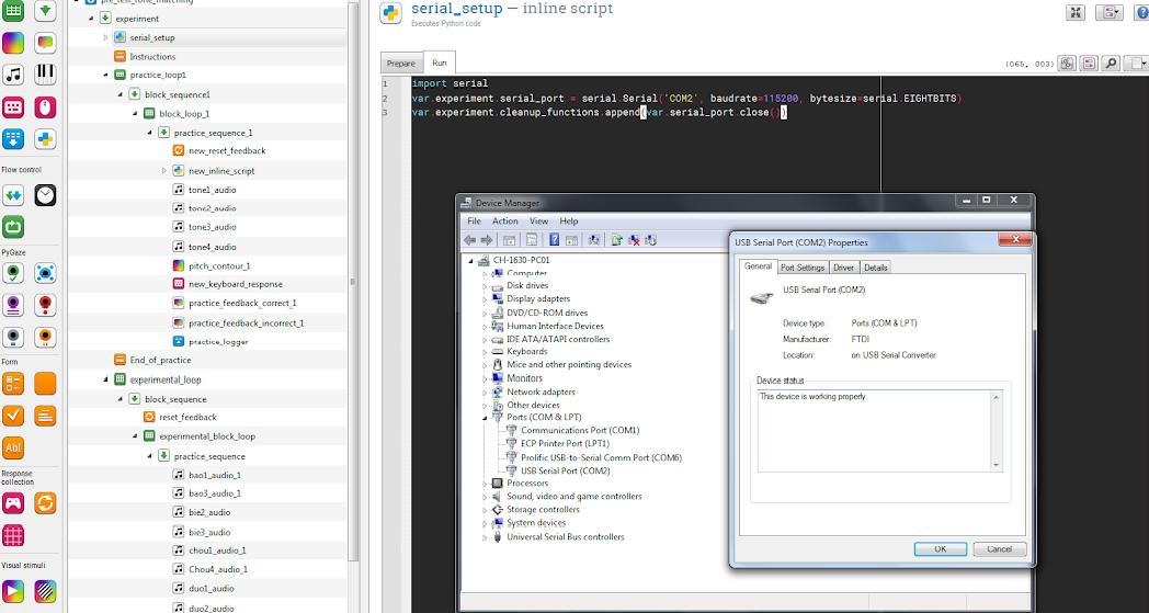 SerialException: could not open port 'COM3' WindowsError(5