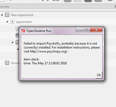 failed to import psycho backend — Forum